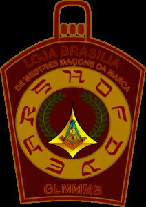 Logo da Loja Brasília de Mestres Maçons da Marca